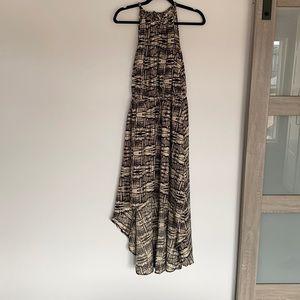 High Low Halter Dress Size M